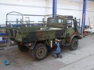 Bundeswehr Unimog alt